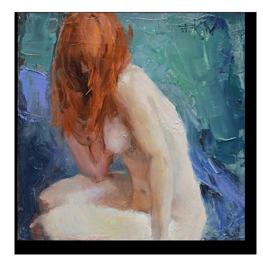 Sitting by Eric Wallis